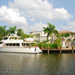 Home overlooking the Fort Lauderdale intracoastal waterway.