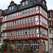Historical framework house in Frankfurt.