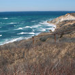 Gay Head Cliffs off Aquinnah, MA.