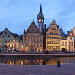 Ghent in the early evening.