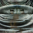 Hands of the Big Buddha in Kamakura.