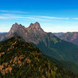 Hozomeen Mountain in Washington.