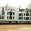 Jefferson Davis Presidential Library on grounds of his last home built in 1853 in Biloxi.