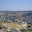 View over Jerusalem.