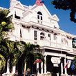 A colonial style inn in the historic district of Key West, listed on the National Register of Historic Places.
