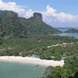 Beautiful beach near Krabi.