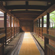 Corridor of the Shinnyoudou temple in Kyoto.
