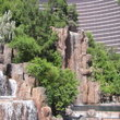 Waterfall from the Wynn Hotel in Las Vegas.