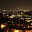Lisbon at night.