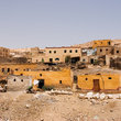West bank houses at Gurna, near Luxor.