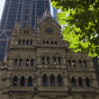 Old and new architecture in Melbourne.