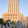 Sculpture in front of the old Miami Courthouse.