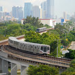 Commuter Train in Miami.
