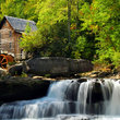 Mill in Babcock State Park in West Virginia.