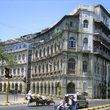 Renaissance style building in the Ballard Estate in Mumbai.