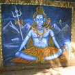 Wall painting of a hindu god in Banganga.