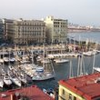 Port in Naples.