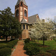 Chapel at Fisk University in Nashville, Tennessee.