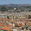 City of Nice seen from Colline du Château.