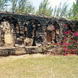 Old fort ruins on St Lucia.