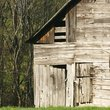 Old wooden barn in West Virginia.
