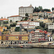 View of Porto from the water.