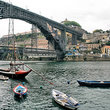 Bridge over the Douro River at Porto.