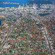 Aerial view of Perth.