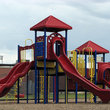 Playground in Washington, Oklahoma.