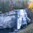 Rainbow Falls on Horse Pasture River, North Carolina.