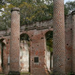 Ruins of 18th century church in South Carolina.