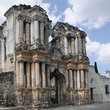 Ruins of a building in Antigua.