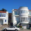 Houses in San Francisco.