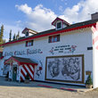 Santa Claus House, North Pole, Alaska.