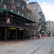 Typical street in Savannah.