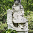 Gracie sculpture in the Bonaventure Cemetery, Savannah.