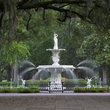 Forsyth Park Fountain in Savannah.
