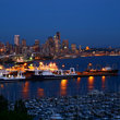 Lights of the Marina, Seattle, Washington.