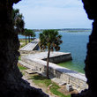Waterfront of St Augustine.