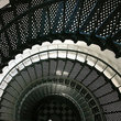 Stairs at St Augustine Lighthouse.
