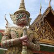 Statue at the Kings Palace in Bangkok.