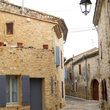 Street in Blauzac near Uzes.