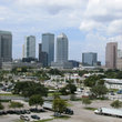 Skyline of Tampa.