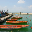 Boats at the Marina in Tel Aviv.
