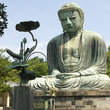The Big Buddha in Kamakura.