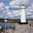 The Donaghadee Lighthouse.