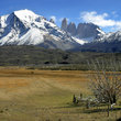 The landscape of Torres del Paine.