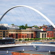 The Newcastle Millennium Bridge.