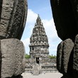 The Prambanan Temple, World Heritage Site in Yogyakarta.