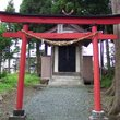 The Torii gate at a Shinto Shrine.